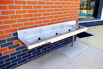 Accessible Drinking Troughs for Schools from Britex