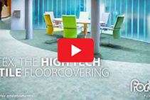 Proven Cleanable Flocked Flooring - Flotex by Forbo