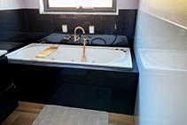 Coloured Shower & Bath Splashbacks from Innovative Splashbacks