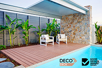 Timber-look Decking Wins Good Design Award 2020 by DECO
