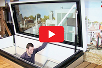 Triple Glass Roof Hatches from Gorter Hatches