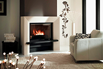 Wood Burning Fireplaces - C800RVE by Cheminees Chazelles