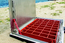 SAFE HATCH™ Safety Grate Access Hatch from EJ