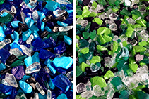 Pre-Mixed Recycled Glass for Concrete from Schneppa Glass