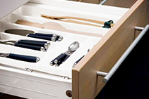 Indaux Supra Soft-Close Metal Sided Drawers from Nover