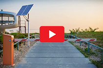 Solar Powered Automatic Access Control from Magnetic