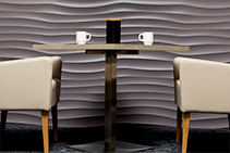 Dunes Textured Wall Panels for Large Spaces from 3D Wall Panels