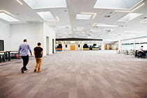 Flotex Flocked Flooring for Community Church Centre by Forbo