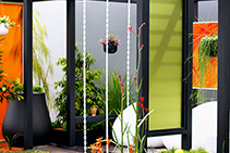 Recyclable Garden Panels with PERSPEX® Frost from Allplastics