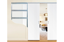 Platinum Cavity Door Units at Hazelwood & Hill