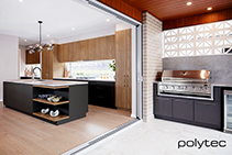 Beautiful Interior Cabinetry & Surfaces from Polytec
