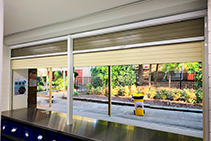 Roller Shutters with Flyscreens for School Canteens from ATDC