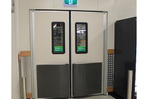 TD001 High Impact Resistant Traffic Doors from Trellis Door Co