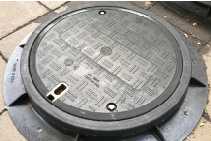 UROWALK™ Composite Manhole Covers by EJ