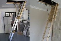 Genuine American-Style Attic Ladders from Access Ladders