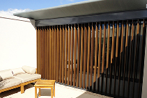Timber Slat Screens for Hospitality from Open Shutters