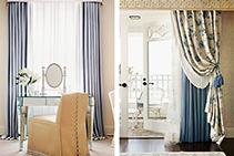 Classic Window Furnishing Fabrics from Current Line Europe