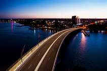 Award-winning Lighting Design for Mandurah Bridge by WE-EF