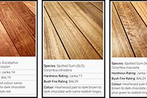 Hurford Organic Timber Decking from Hazelwood & Hill