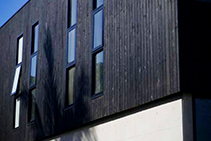 Shou Sugi Ban Architectural Cladding from Hazelwood & Hill