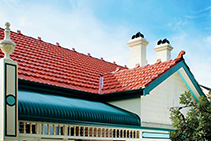 Terracotta Roof Tiles for 12-Degree Roof Pitches from Higgins