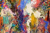 Abstract Paintings by Peter Griffen on Now at SOHO Galleries
