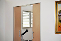 Automatic Sliding Cavity Doors from Smooth Door Systems