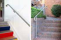 Banister Rails for Inside & Out from Axess Trading