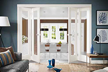 Bi-folding Door Tracks for Home or Office from Cowdroy