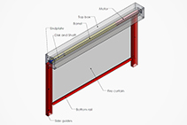 Commercial Fire Curtains from Technical Protection Systems