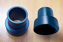 Plastic Bushes - Top Hat & Flanged Bushes from Allplastics