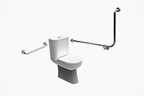 Accessible Washroom Grab Rails from Axess Trading