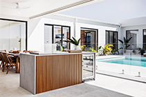 QuickClick Battens for Modern Australian BBQ Areas by DECO