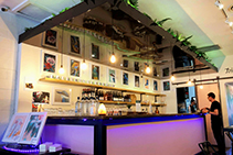 Coloured Acrylic Ceilings & Walls for Bars by Allplastics