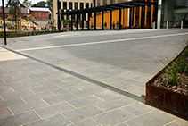 Custom Outdoor Drains & Grates for Hospitals from Hydro