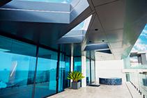 Custom-shaped Roof Windows for Modern Home by Atlite Skylights