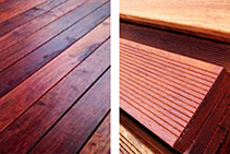 Merbau Timber Decking Available from Hazelwood & Hill