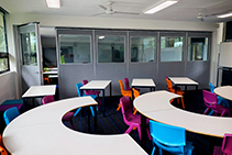 Moveable Acoustic Operable Walls from Bildspec