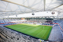Stainless-steel Kitchen Fit-out for Bankwest Stadium by Stoddart