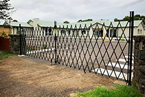 Trackless Retractable Security Gates from ATDC