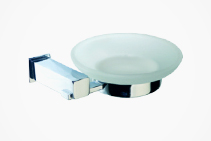 Chalcedony Glass Soap Dish from Tilo Tapware