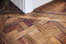 Marie Antoinette Parquetry Flooring by Antique Floors