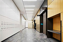 Laminated Porcelain Raised Access Floor Panels by Tate