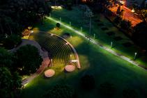 Custom Luminaires for Brisbane Parkland from WE-EF