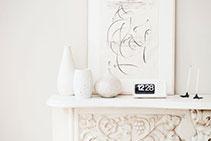 Bespoke Fireplace Mantels & Styling Tips from Richard Ellis Design