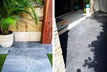 Tumbled Bluestone Natural Stone Pavers from Simons Seconds