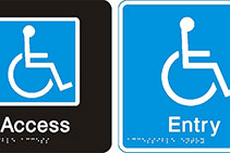 Excellent Braille & Tactile Signage Sydney by Hillmont Signs