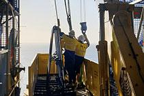 Retractable Crane Loading Platform Hire from Preston Hire
