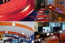 Decorative Interior Curved Glulam Timber from DGI