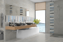 INTERIORS Fancy Ceramic Wall and Floor Tiles from DUNE